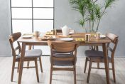 Christopher Knight Idalia Mid-Century 5-piece Rectangular Dining Set
