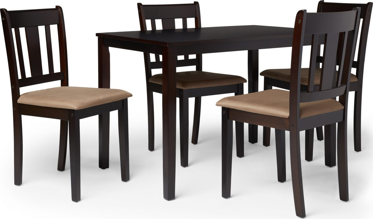 Simple Living Stratton 5-Piece Dining Set