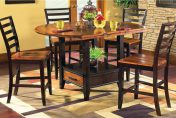 Gracewood Hollow Allison Acacia 5-piece Counter Height Dining Set