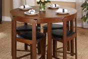 Simple Living 5-piece Tobey Compact Round Dining Set